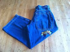 VTG JNCO Jeans Stove pipe Wide Leg Skater Hip Hop 36 X 29 Baggy Loose USA