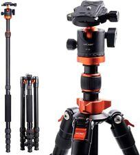 "K&F Concept TM2515M1 Kamera Stativ 67"" Kompaktes Aluminum Tripod, 360°Kugelkopf"