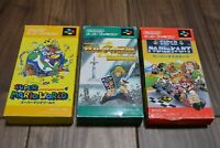 SUPER MARIO WORLD & KART & ZELDA  set Nintendo Super Famicom Japan Box Manual