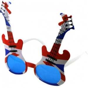 Union Jack Rock Guitar Sunglasses