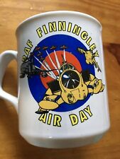 Vintage RAF Finningley Air Day Mug Cup Pottery Military Tea Coffee Drink Plane