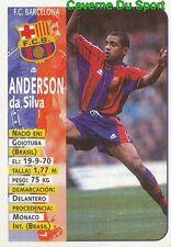 026 SONY ANDERSON DA SILVA BRAZIL ESPANA FC.BARCELONA STICKER LIGA 98-99 PANINI