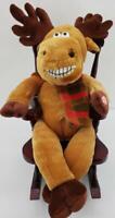 Dan Dee Grandma Got Run Over by a Reindeer Singing Christmas Rocking Chair Moose