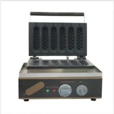 GOOD 220v FY-119 Electric French Hot Dog Lolly Waffle Maker Machine Baker Iron