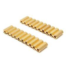 20pcs M3 12mm PCB Circuit Board Female Brass Hex Nut Standoffs Spacer