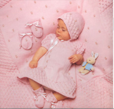 Baby girl Vintage layette  knitting pattern