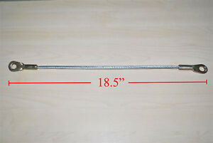 Fit 86-94 Mitsubishi Triton Tail Gate Cable Ram 50 Mighty Max Me Mj Mg Ute Dodge