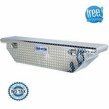 Truck Tool Box Utility Storage Pickup Bed Aluminum Mid Size Job Chest Slimline