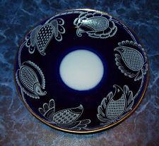 Vintage Russia USSR LFZ Lomonosov factory Porcelain SAUCER / PLATE Gilding edges