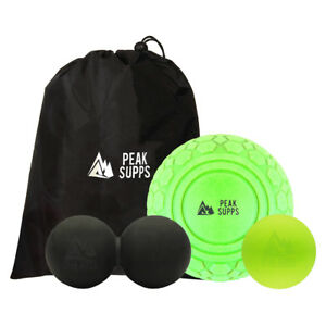 Peak Supps Trigger Point Massage Ball - Myofascial Release   Deep Tissue Massage