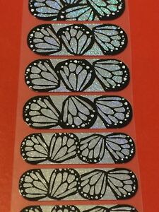 Jamberry Half Sheet - Superfly - Holographic Butterfly Wings