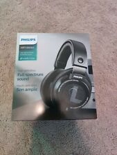 Philips SHP9500 studio headphones modded with Shure 840 pads
