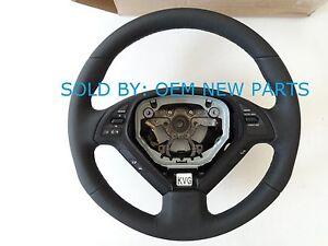 Genuine Factory 48430-1NM5A Infiniti Steering Wheel Black NEW OEM 484301NM5A