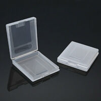5 x Clear White Cartridge Protection Case for Nintendo Game Boy Color GBC