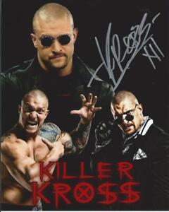 "Karrion ""Killer"" Kross Autographed 8x10 - New collage"