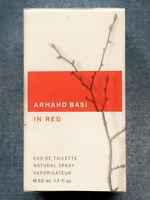 IN RED EDT de Armand Basi 50ml. ORIGINAL