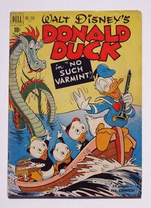 Walt Disney's Donald Duck Four Color Comics #318 1951 No Such Varmint Barks