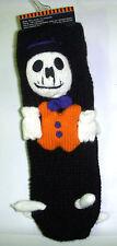 Skeleton Slipper Socks Halloween Child Socks OSFM NWT