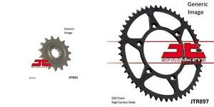 Front and Rear Steel Sprocket Kit for OffRoad HUSABERG FE 450 E 2004-2006