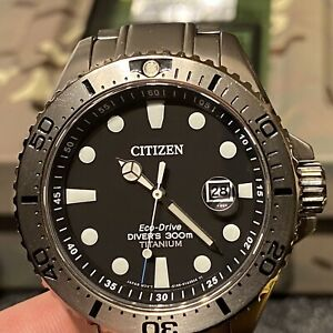 Citizen Men's Watch - Royal Marines Commando Ltd Ed BN0140-56F Diver Edition