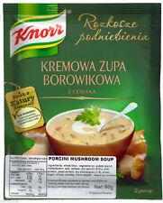 Knorr Porcini Mushroom Soup 50g, KREMOWA ZUPA BOROWIKOWA