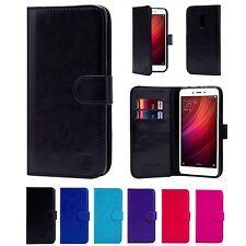 Portefeuille Livre PU cuir étui housse pour Xiaomi TéléPhones+Protège Écran &