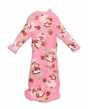 Adult sized Strawberry Shortcake Cozy Snuggie Backwards Robe fnt