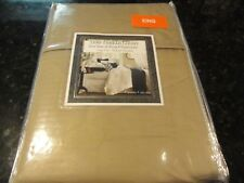 new 2 KING pillow cases Tan 1100 thread count TC Wrinkle resistant soft 20 x 40""