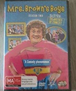 Mrs Brown's Boys Browns Series 2 Season (DVD, 2012, 2-Disc Set) New/Sealed