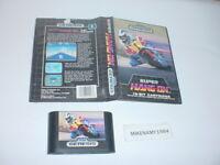 SUPER HANG-ON racing game only in original case for Sega GENESIS system