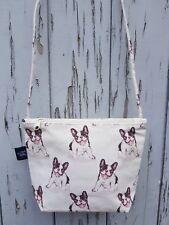 Boston Terrier Canvas Handbag - Bag Purse Puppy Pug Dog