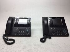 Lot of 2 Cisco CP-9951 Video Conference IP Business Phones CP-9951-C-K9 NO CAM