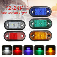 12/24V LED Side Marker Light Clearance Lamp For Car Truck Trailer Lorry Caravan