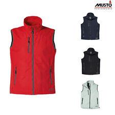 Musto Men's Sardinia BR1 Waterproof Gilet SB0120 - Zip-up Boating Jacket Coat