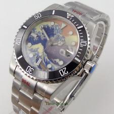 Bliger 40mm Japan NH35 Automatic Movement Men's Watch Date Sapphire 904L Strap