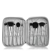 e.l.f. 11 Piece SILVER Brush Collection SET #75340 + Silver Case Makeup Brushes