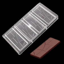 Plain Bar Chocolate Mold Polycarbonate Candy Bar Fancy Bars PC Chocolate Mould