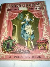 Vintage Cinderella: A Peepshow Book Illustrated by Roland Pym (1950)
