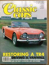 Classic Cars Magazine - February 1990 - TR4 Austin Seven Jag Coupé