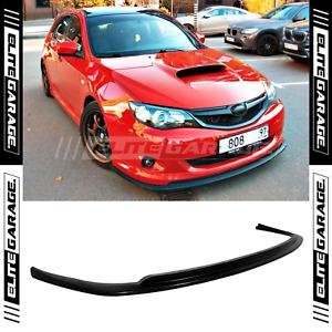 Fits Subaru Impreza Narrow Body CS Style Front Lip Spoiler Chin (2008-2010)