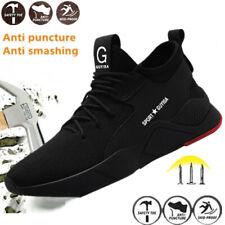 Нас нерушимой безопасность работы туфли стальной носок сапоги легкие кроссовки мужские
