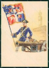 Militari Associazione Artiglieri D'Italia Firenze Abkasi FG cartolina XF4158