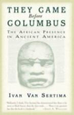 THEY CAME BEFORE COLUMBUS - VAN SERTIMA, IVAN - NEW PAPERBACK BOOK