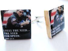 Top Gun Cufflinks Tom Cruise Movie Cufflinks handmade Unique gift for men