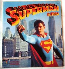 03516 Album figurine Panini - Superman 1979 -  116 fig. su 204