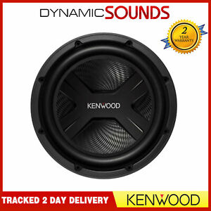 "Kenwood KFC-PS2517W 10"" Inch 25cm 1300 WATTS Single Voice Car Sub Bass Subwoofer"