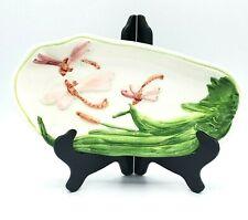 Carraro Dragonfly Oblong Ceramic Dish