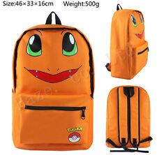 Pocket Monster Pokémon Charmander Canvas Shoulder Backpacks Bags AAA