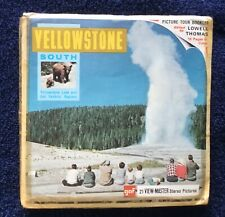 View-Master Yellowstone South National Park Series A306 Complete W/Booklet Gaf