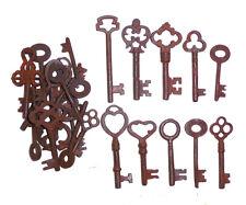 Antique Iron Skeleton Keys  Lot of 100 Steampunk